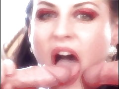 cum swallow porn @ naked girls getting fucked